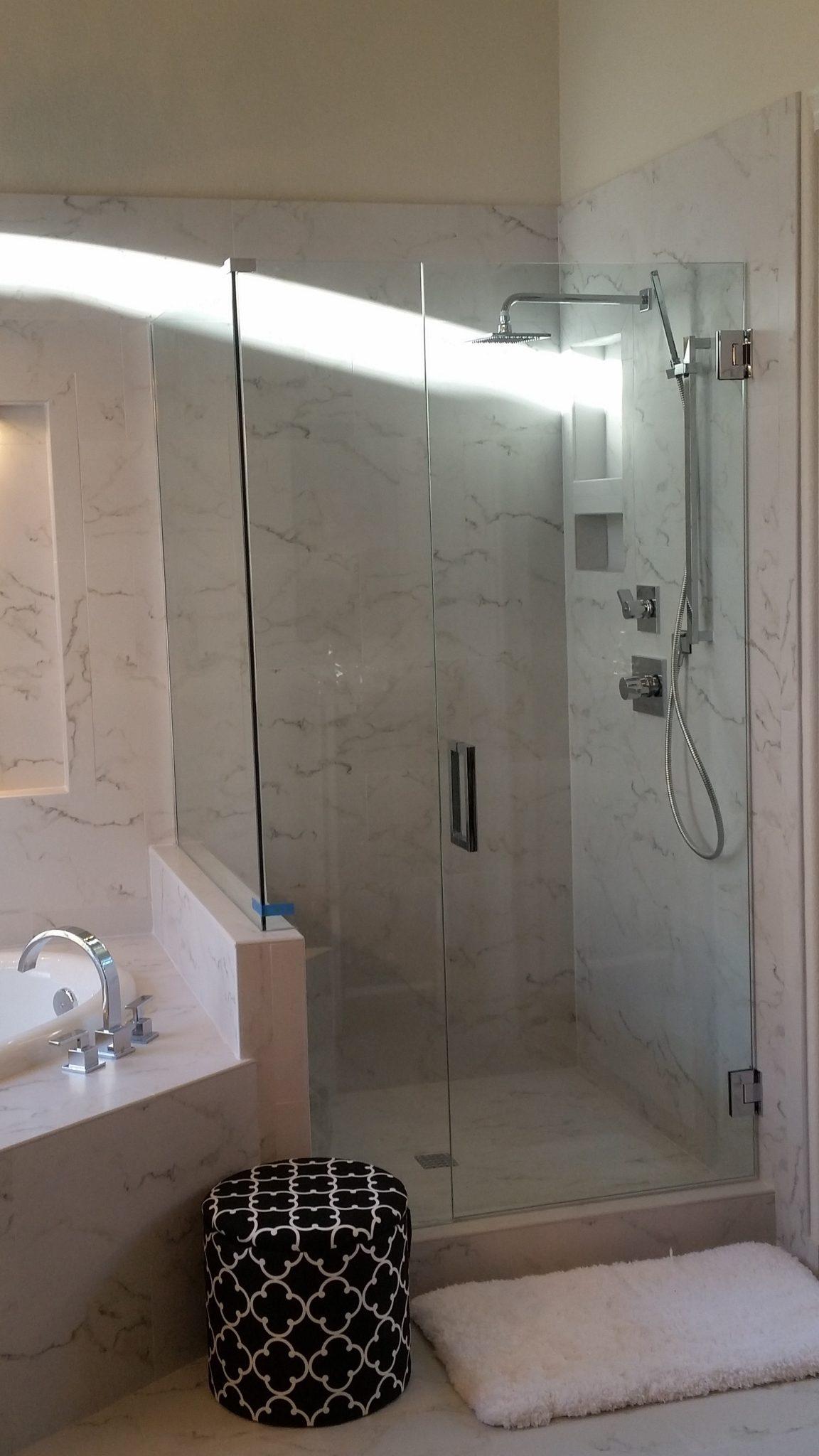 Arizona Tub Shower Combination | A Cut Above Glass