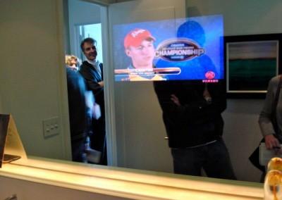 2 way mirror TV