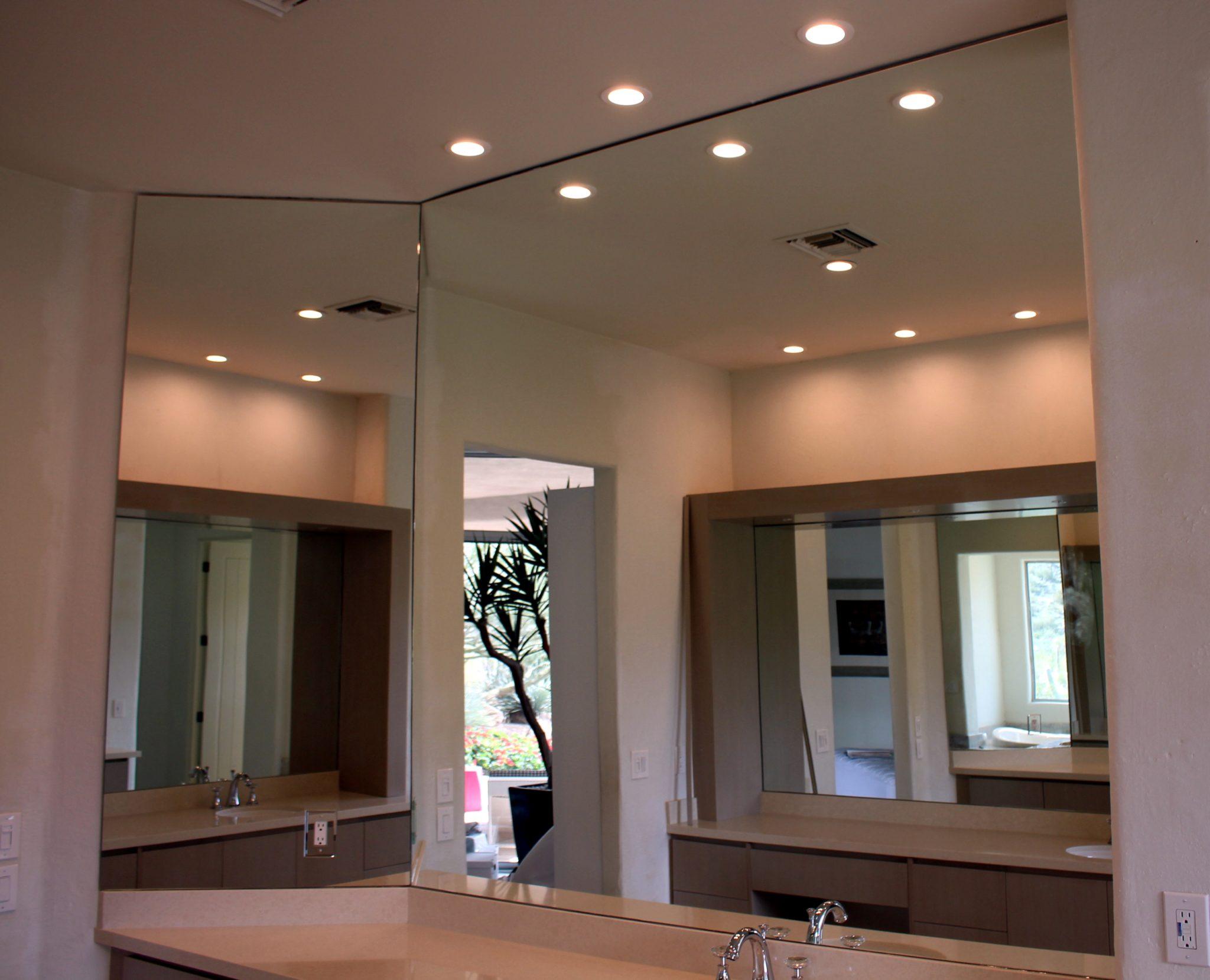 Bathroom Mirror Size bathroom mirrors | a cut above glass