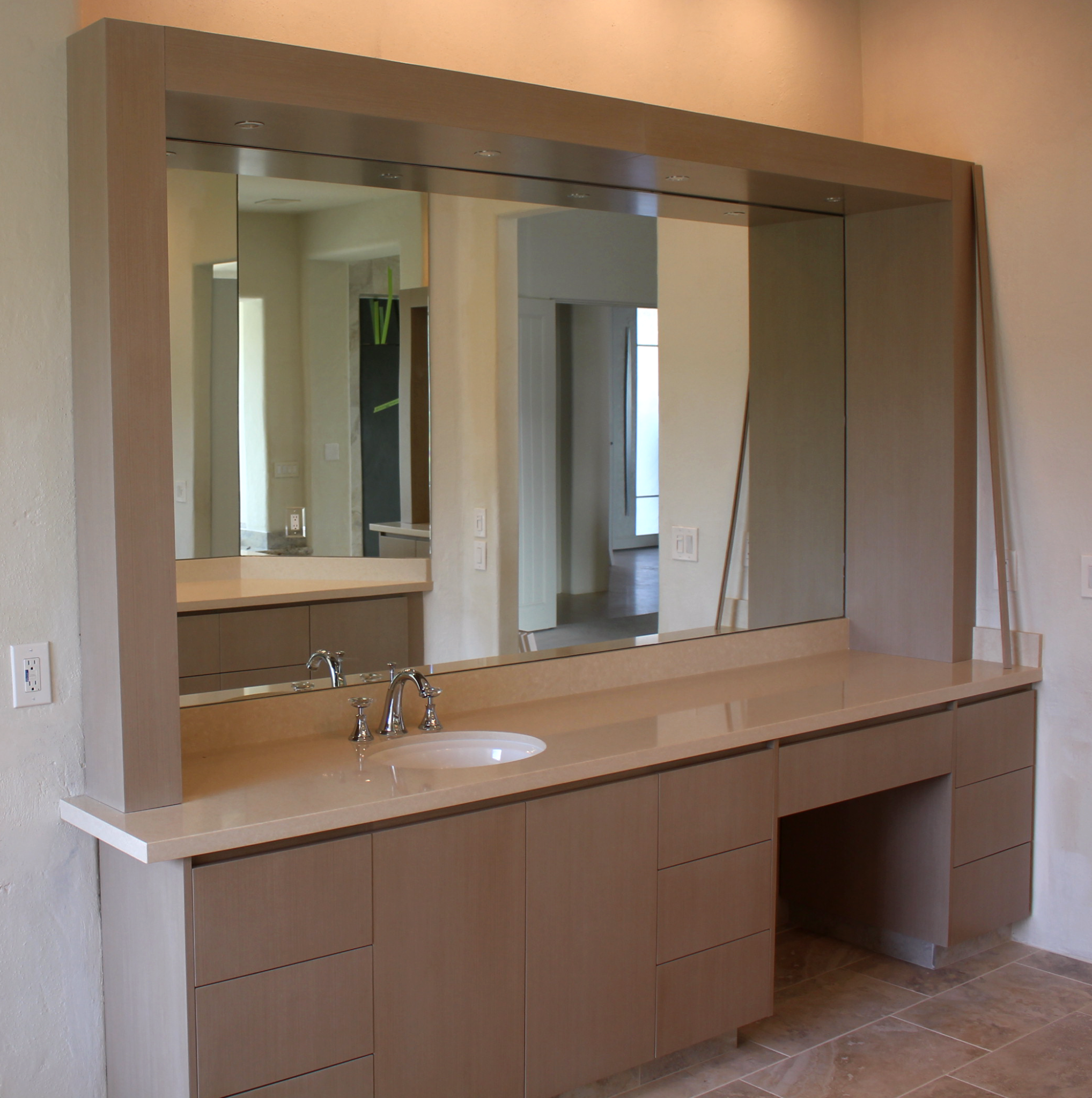 3 Way Bathroom Mirror Vanity Vanities Cabinet Mirrors A Cut Above Gl