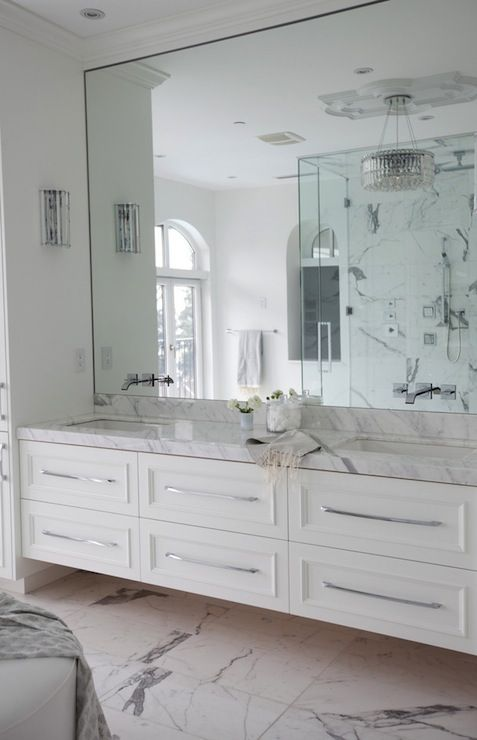 Bathroom mirrors a cut above glass - Pictures of bathroom mirrors ...