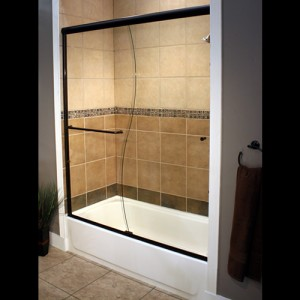S curve bypass shower
