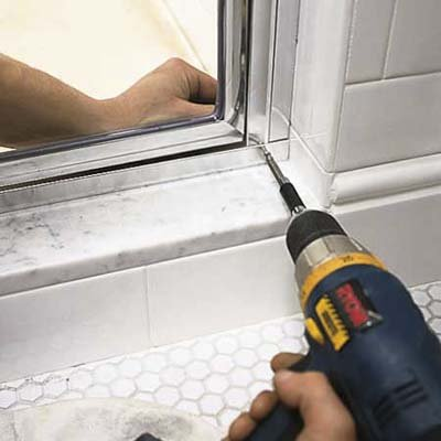 Shower door repair